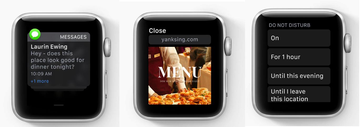 Mejores notificaciones en el Apple Watch con watchOS 5
