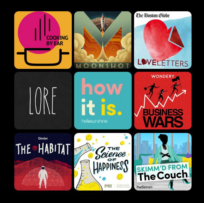 Podcasts en el Apple Watch