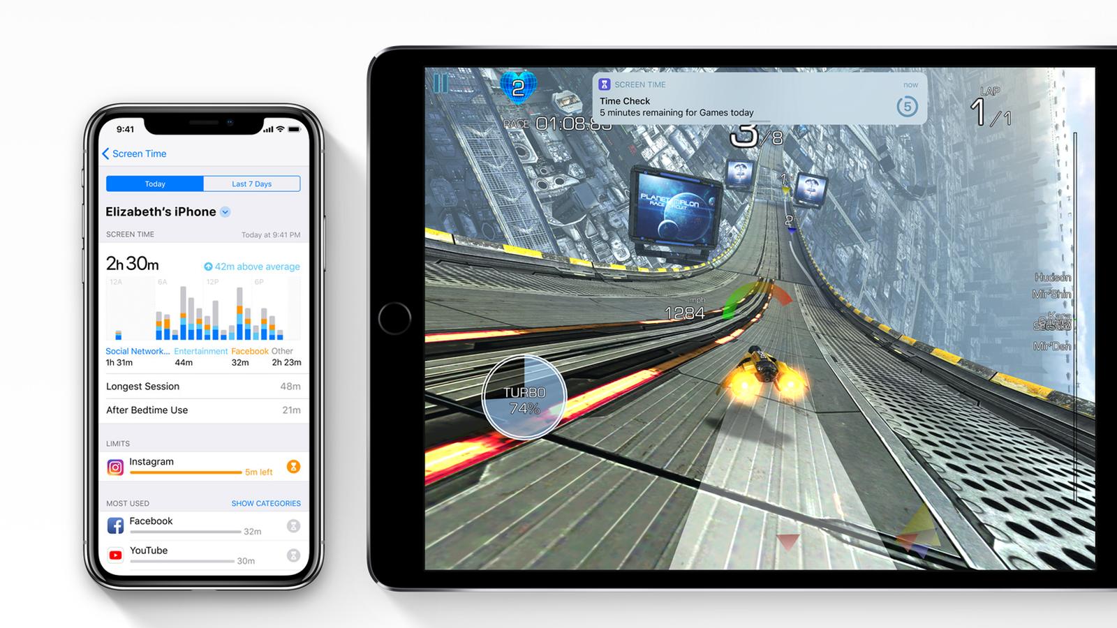 Limitando el tiempo de utilización de un juego remotamente, con iOS 12