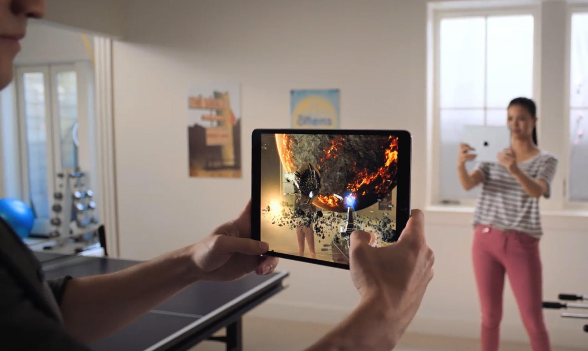 Realidad Aumentada compartida con varios dispositivos en iOS 12