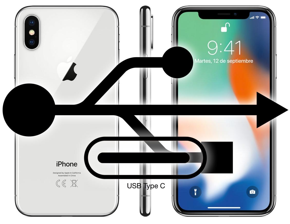 Puerto USB-C en el iPhone