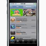 App Store original en el iPhone 3G, en el año 2008