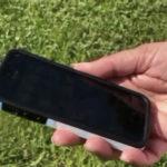 iPhone caído de un avión y encontrado después en perfecto estado