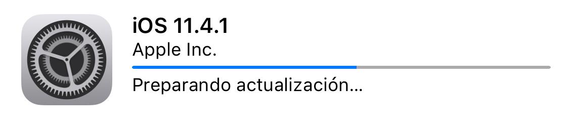 Instalando iOS 11.4.1