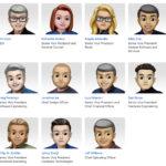 Memojis del equipo directivo de Apple