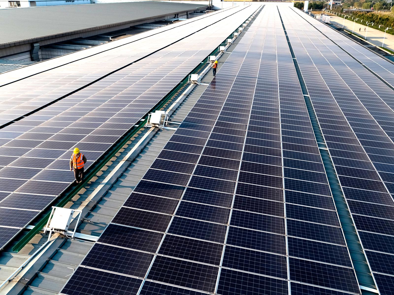 Paneles solares financiados por Apple