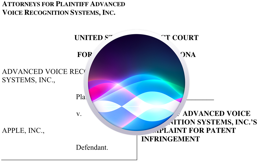 Patente que supuestamente describe a Siri
