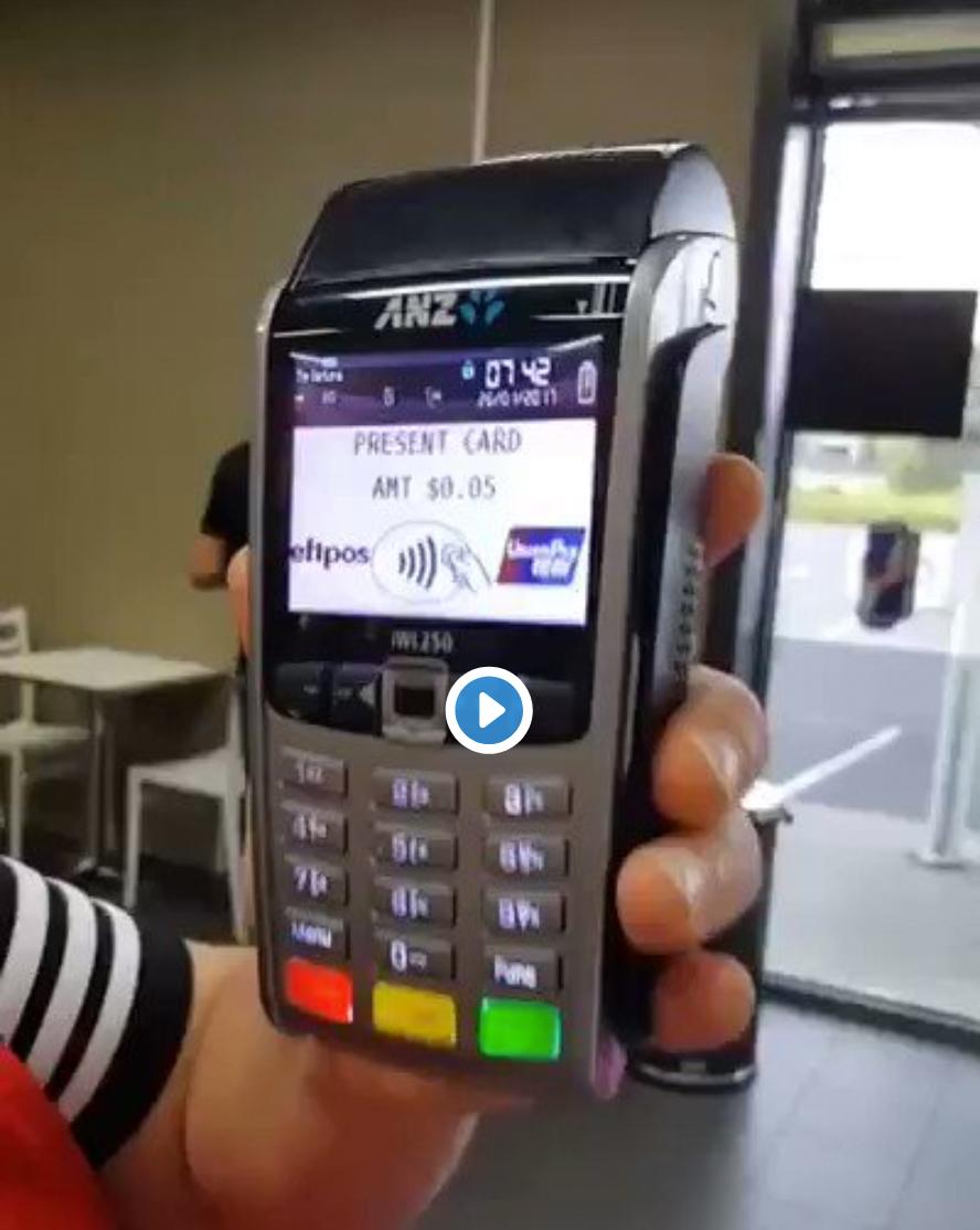 Datáfono de pagos inalámbricos