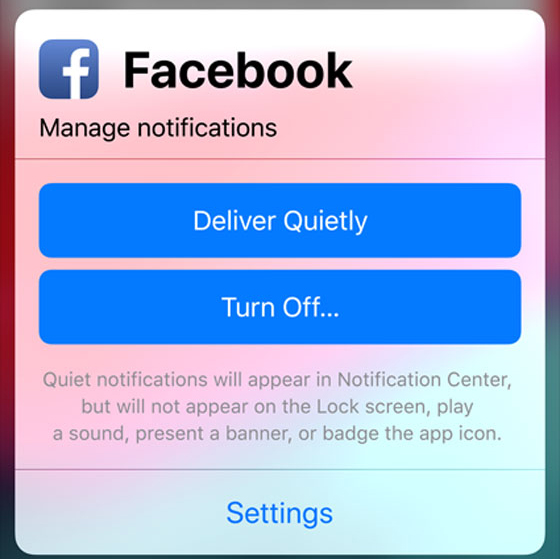 Silenciar notificaciones