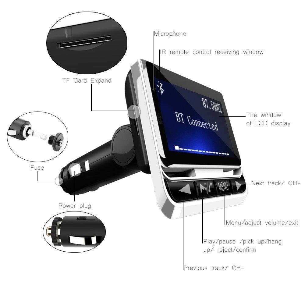 USB y Bluetooth para el coche de ToHayie