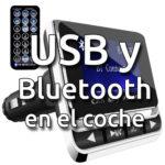 Cómo añadir puertos USB para cargar un iPhone a tu coche fácilmente, con Bluetooth y manos libres de regalo
