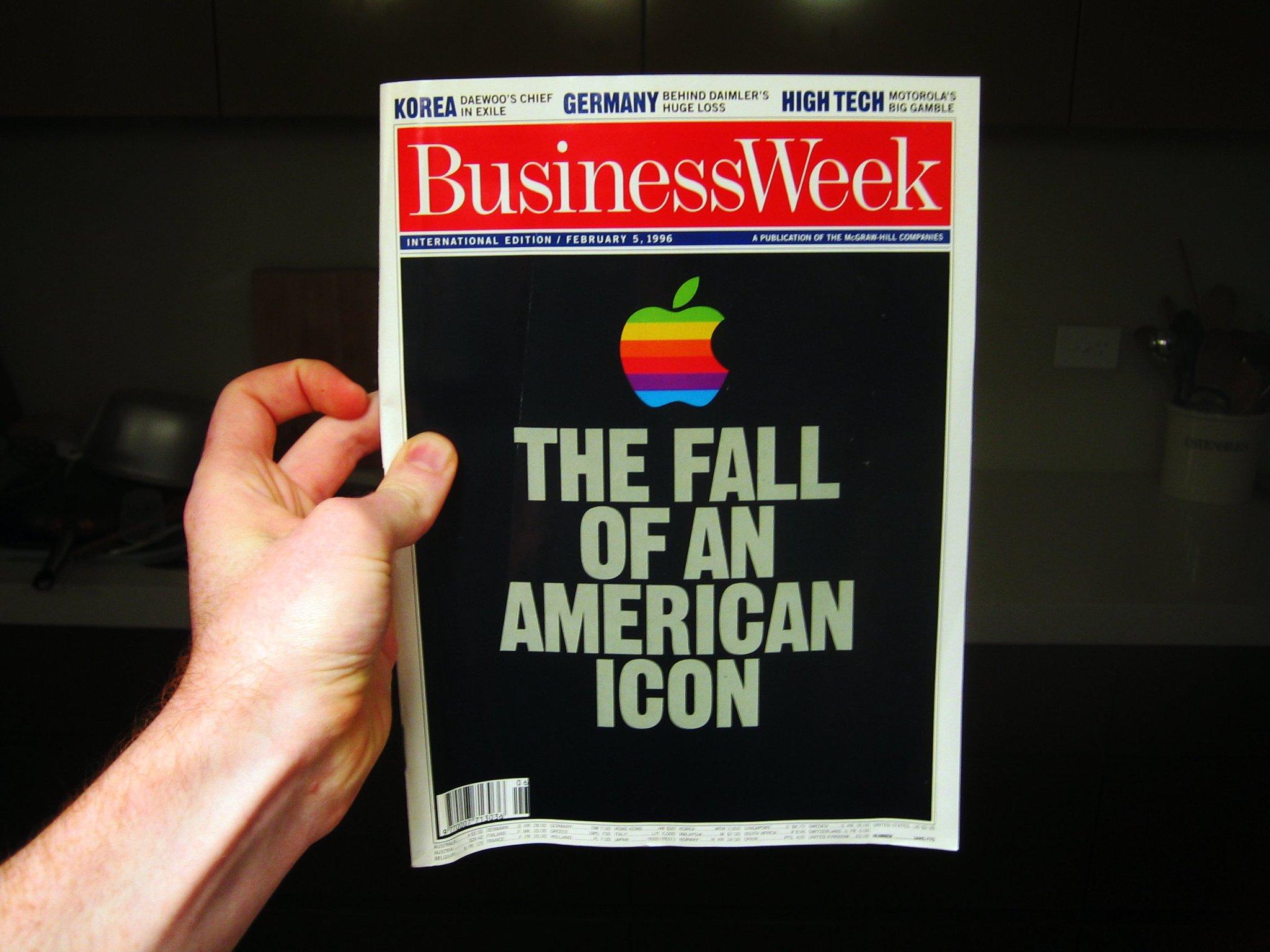 BusinessWeek: La caída de un símbolo americano