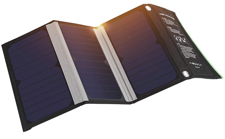 Cargador con paneles solares de LESHP