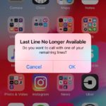 iOS doce preguntando si deseas aprovechar otra tarjeta SIM