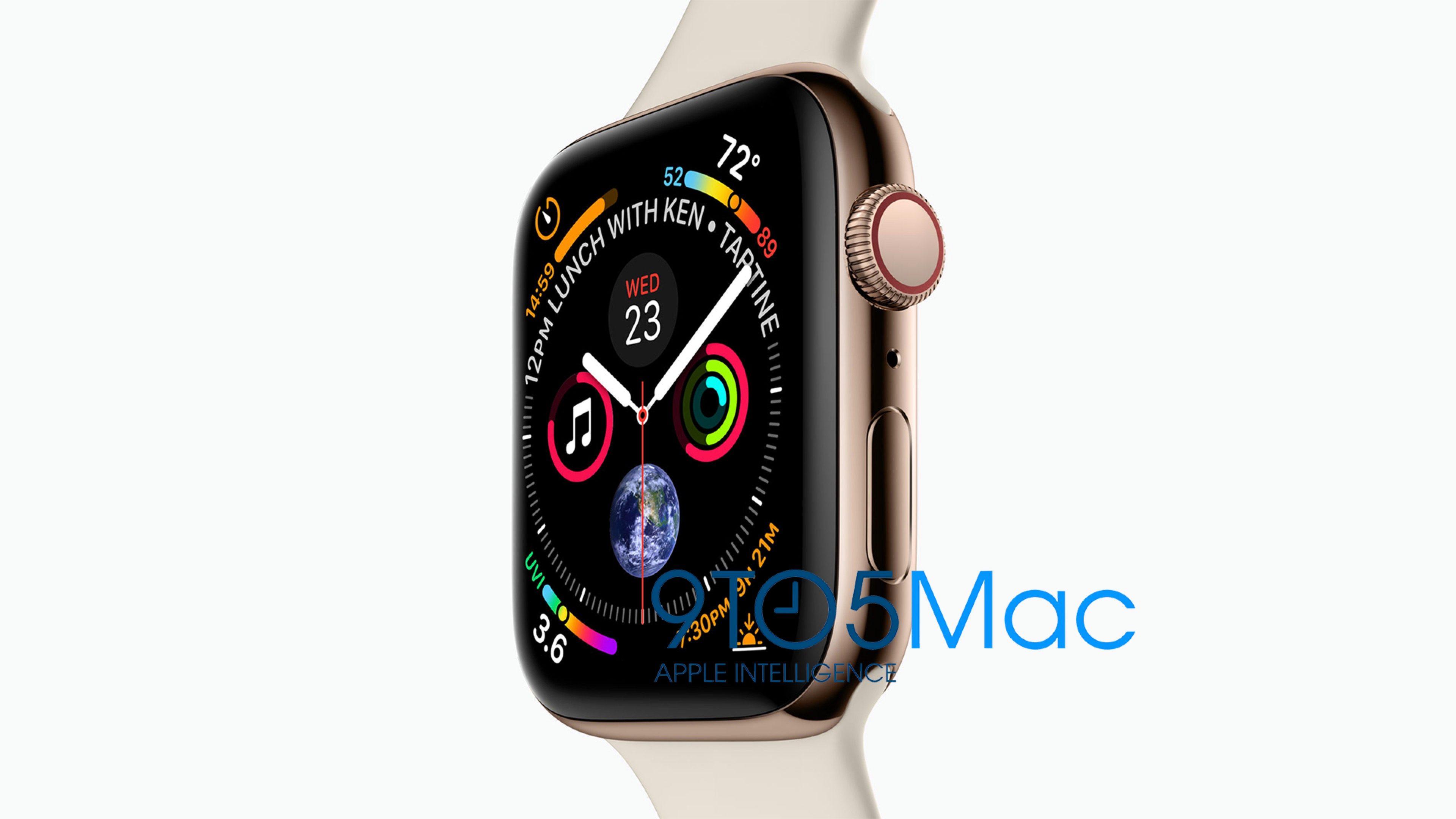 Apple Watch series 4, supuestamente filtrado