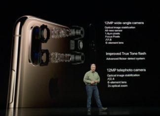 Keynote de presentación del iPhone XS, XS Max y XR - Cámara del iPhone XS