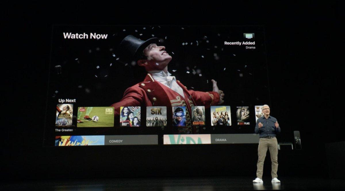 Keynote de presentación del iPhone XS, XS Max y XR - Apple TV