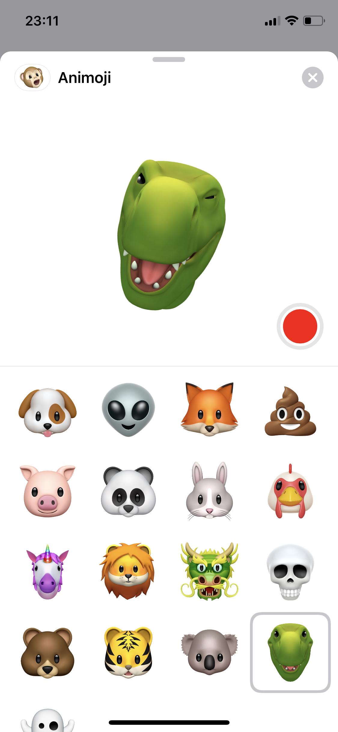Animojis en iOS 12