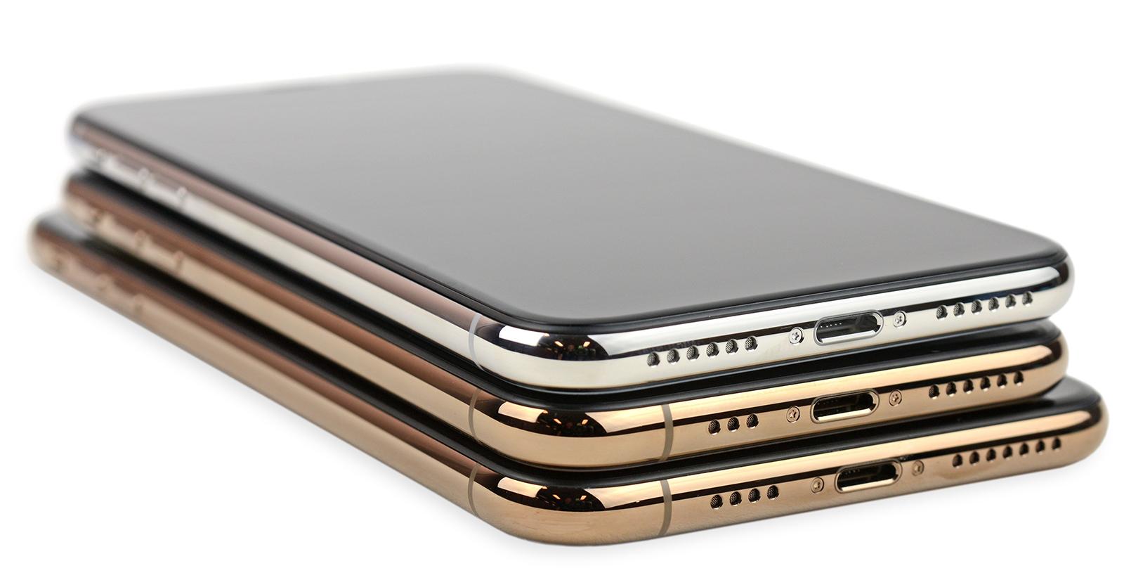 Comparación de las antenas del iPhone X y XS - XS Max (vía iFixit)
