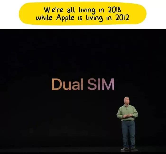 Meme sobre las dos tarjetas SIM