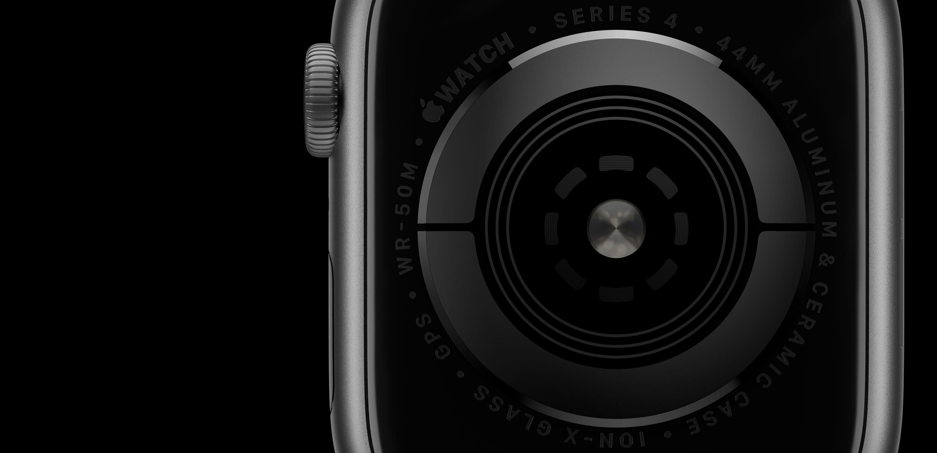 Electrodos del Appel Watch series 4