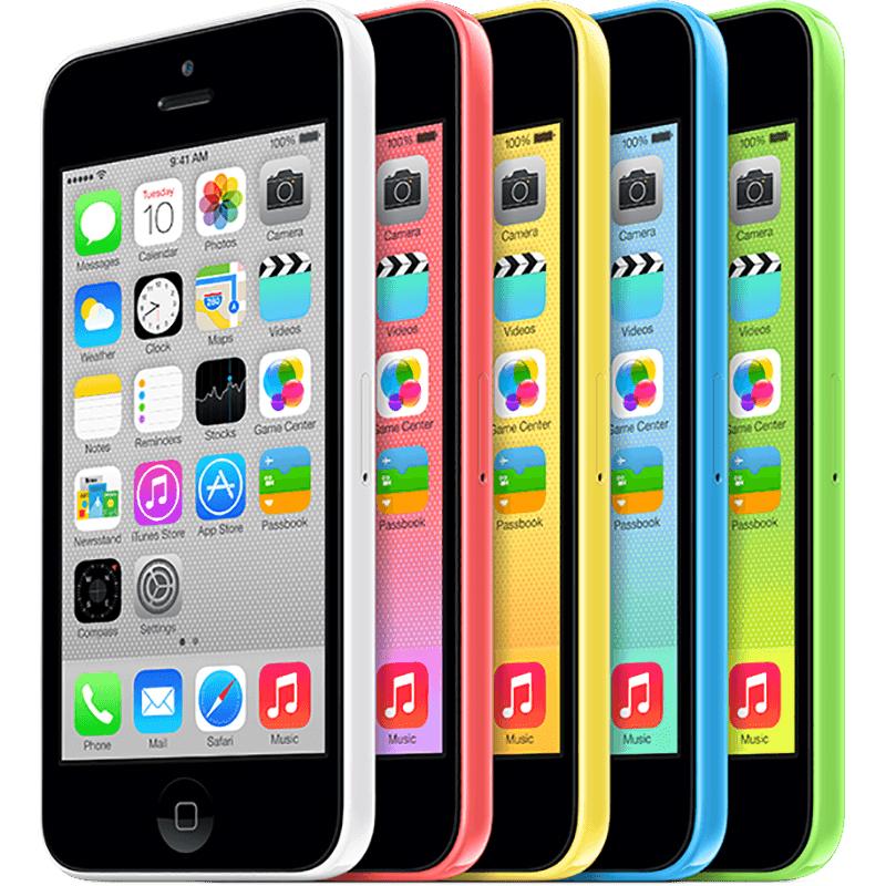 Colores del iPhone 5C