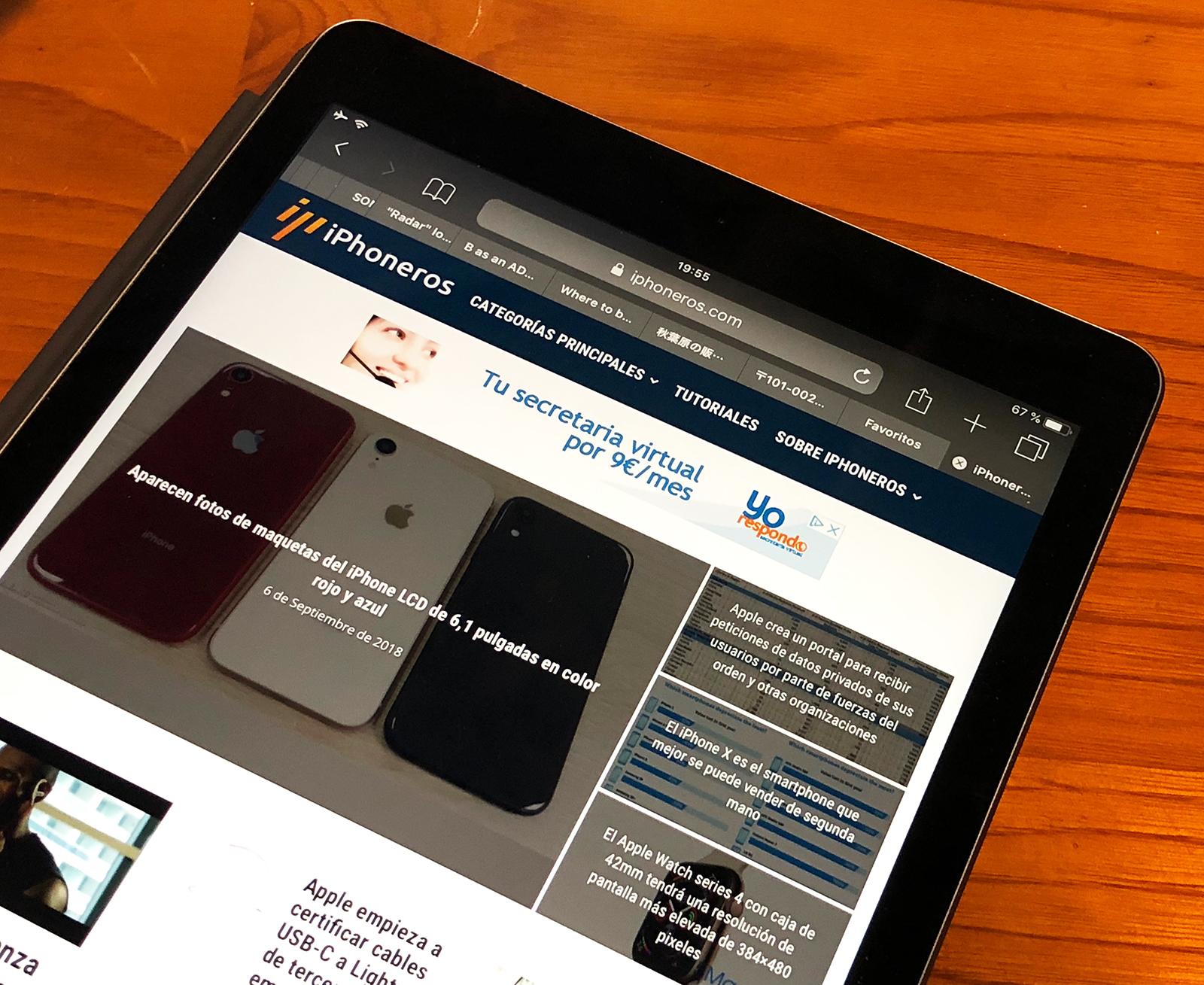 Nuevo diseño de iPhoneros 5.0 en el iPad