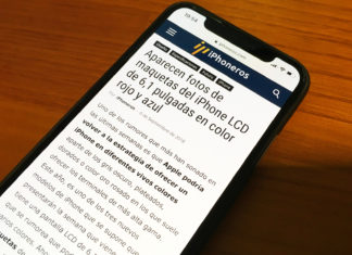Nuevo diseño de iPhoneros 5.0 en el iPhone X