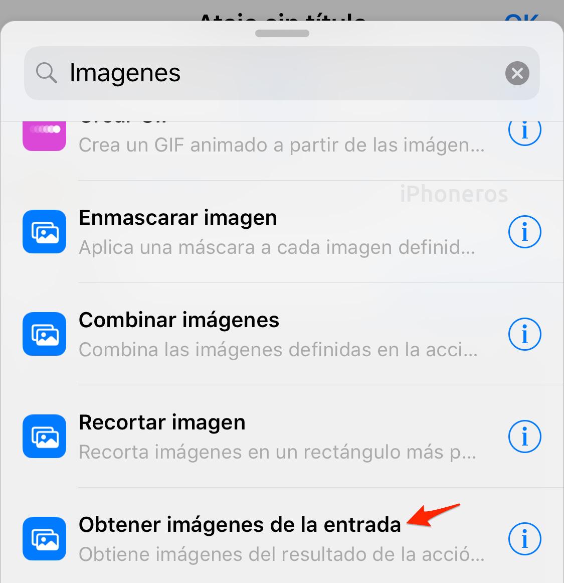 Atajos de Siri: Obtener imágenes