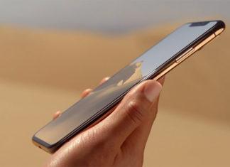 iPhone XS en el desierto