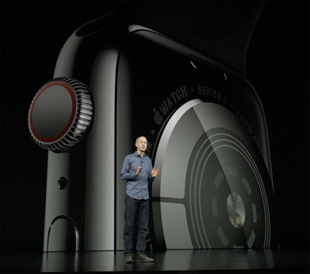 Presentación del Apple Watch Series 4
