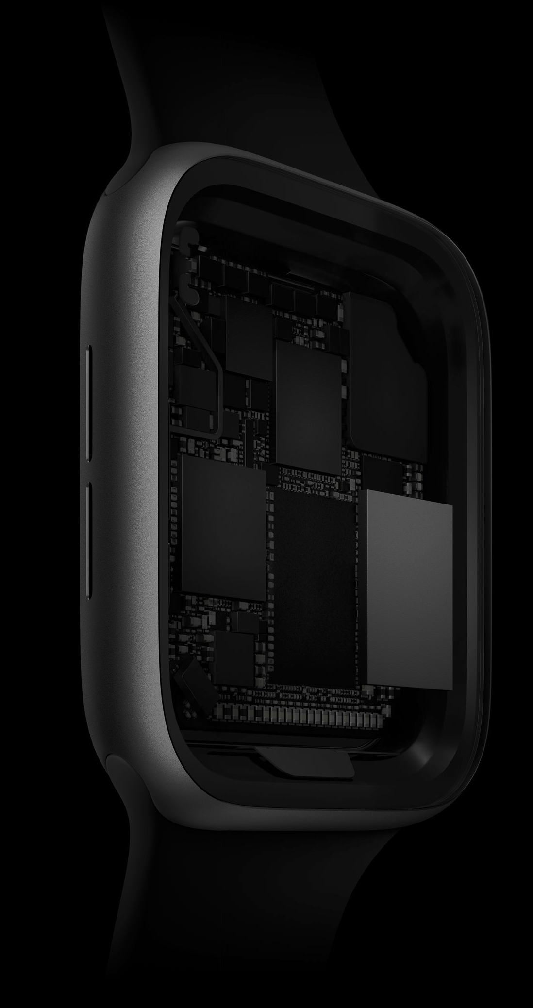 Procesador S4 en el interior del Apple Watch series 4