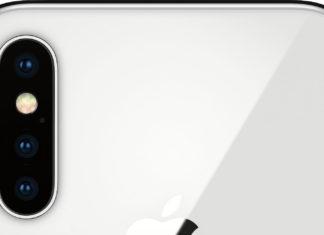 iPhone X con tres cámaras traseras