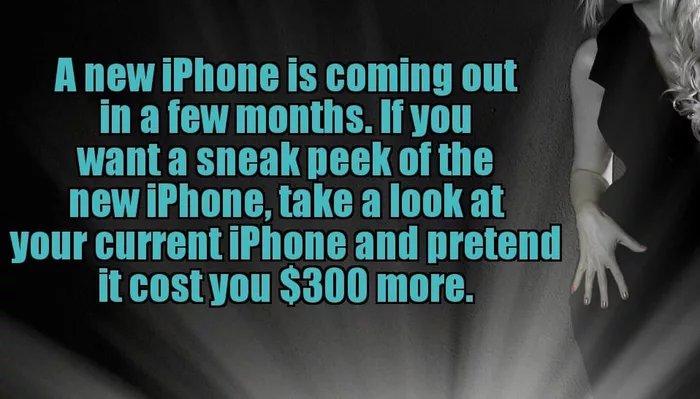 Meme sobre la similitud de los nuevos iPhones