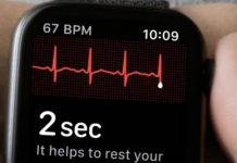 Keynote de presentación del iPhone XS, XS Max y XR Apple Watch Electrocardiograma