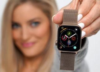 Apple Watch Series 4 dorado