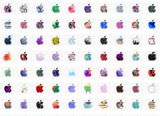 370 logotipos de Apple para la Keynote