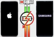 Prueba de duración de batería entre el iPhone XS Max y Galaxy Note 9