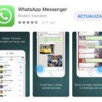 WhatsApp libre para actualizarse