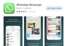WhatsApp disponible para actualizarse