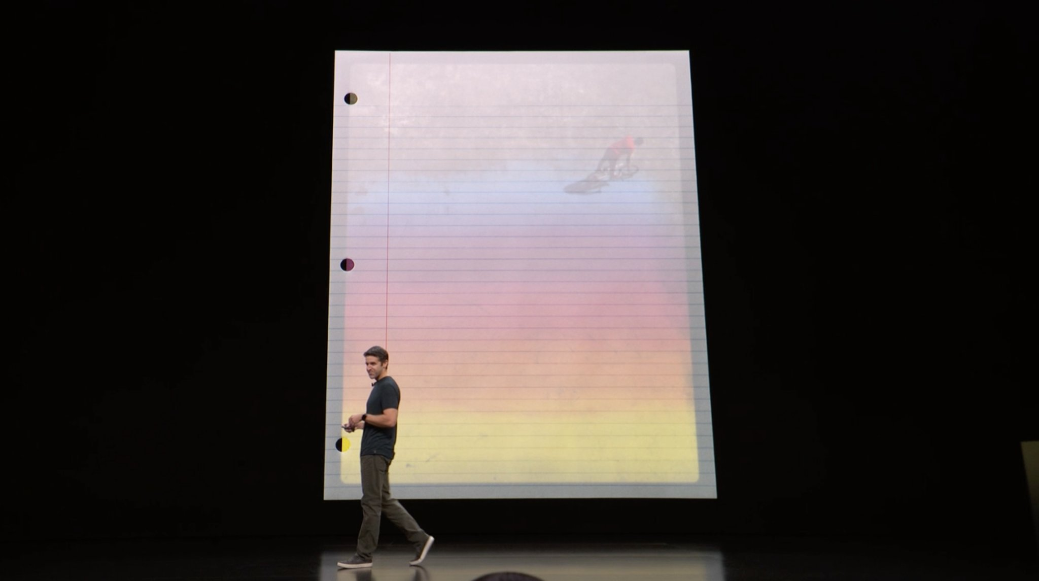 Nuevo iPad Pro cabe en una DIN A4