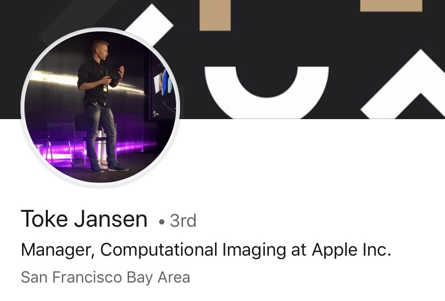 LinkedIn de Toke Jansen