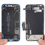 iPhone XR por dentro (vía iFixit)