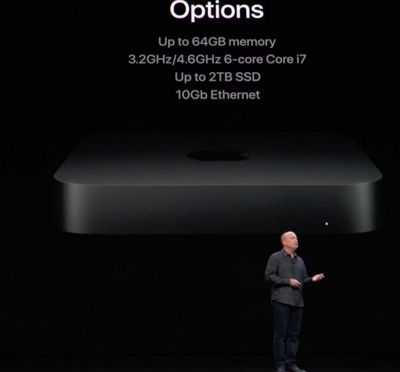 Opciones de ampliación del nuevo Mac mini