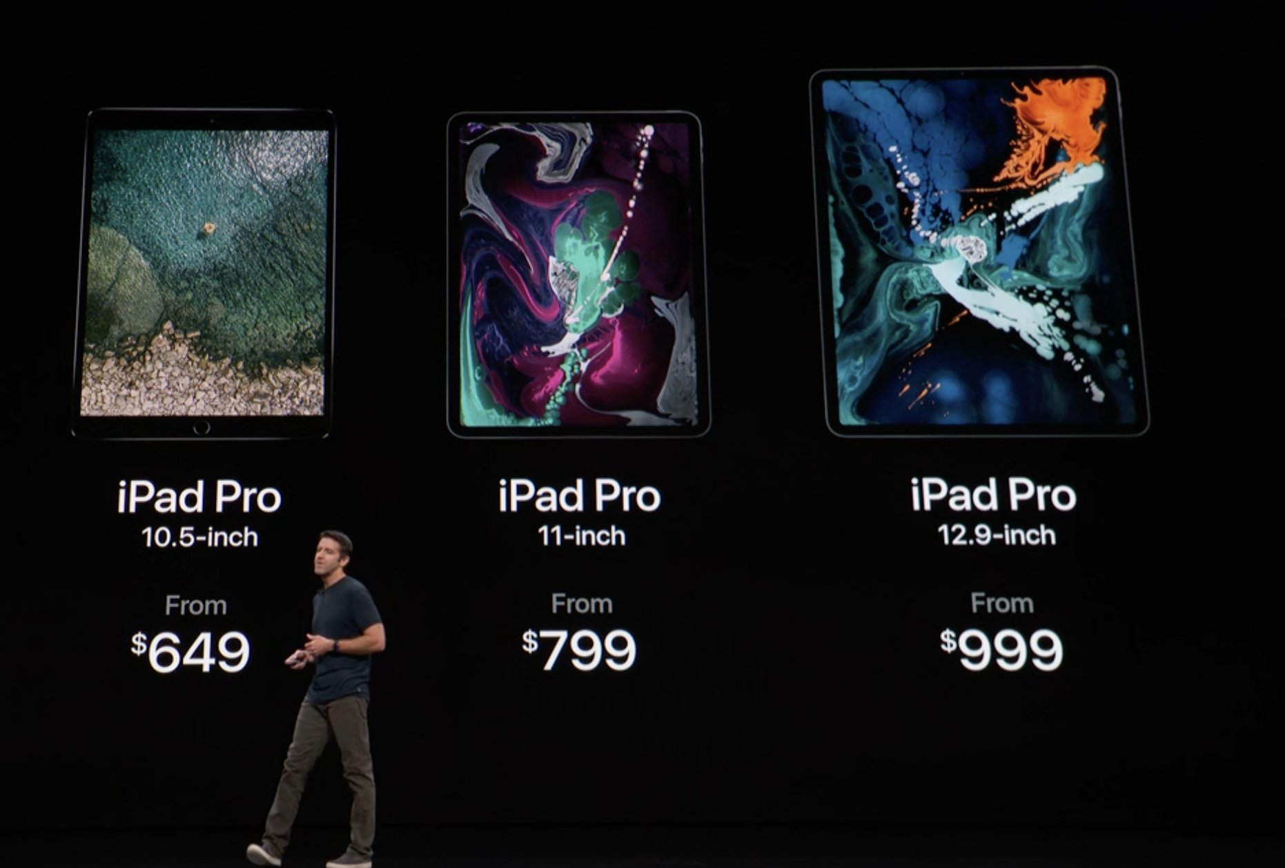 Precios de los nuevos iPad Pro todo pantalla