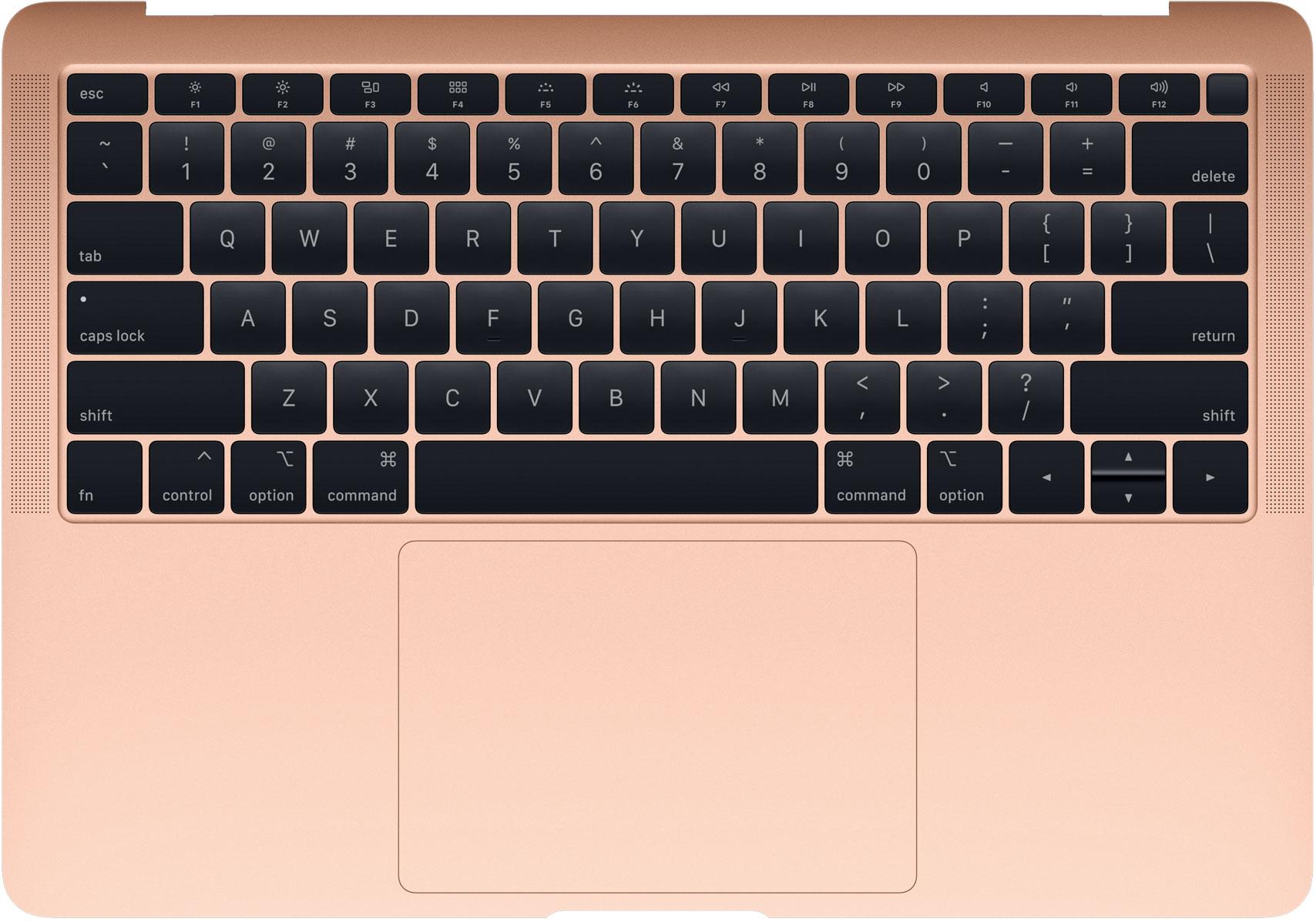 Teclado del nuevo MacBook Air Retina
