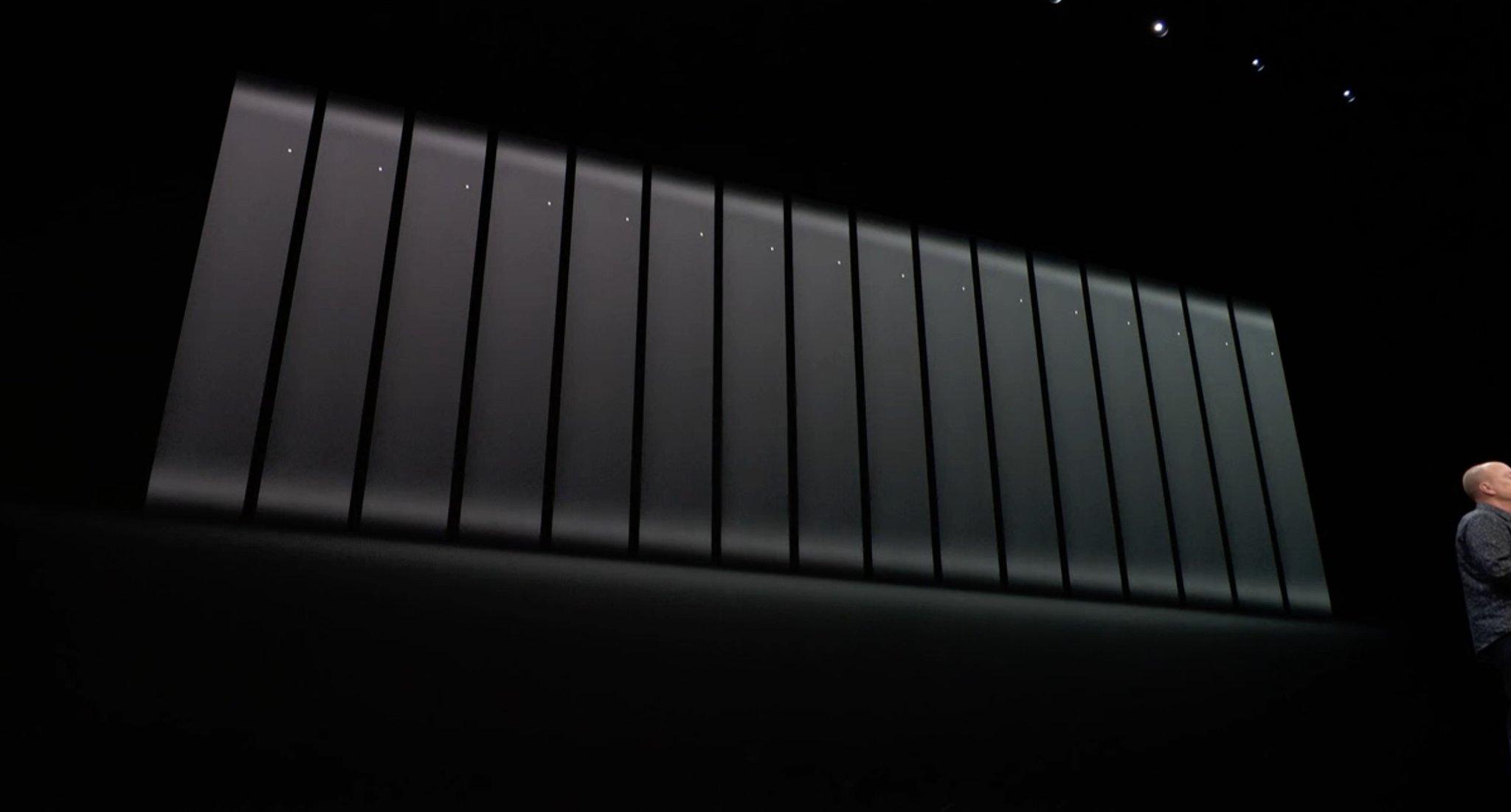 Granja de servidores echa con el nuevo Mac mini