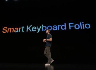 Smart Keyboard Folio: Evento de presentación del iPad Pro todo pantalla, del Mac mini y del MacBook Air Retina