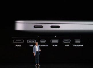 MacBook Air puertos USB-C: Evento de presentación del iPad Pro todo pantalla, del Mac mini y del MacBook Air Retina