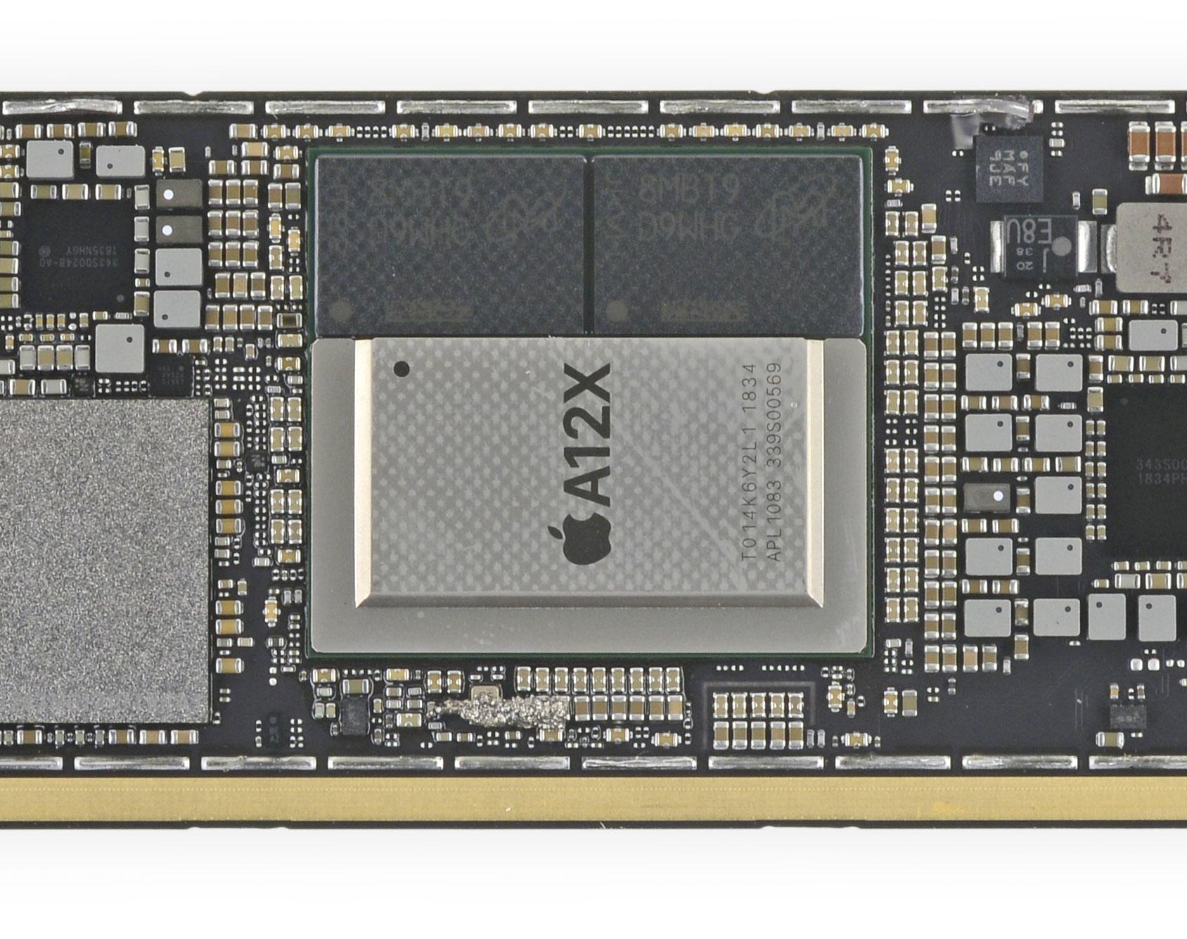 A12X del iPad Pro 2018